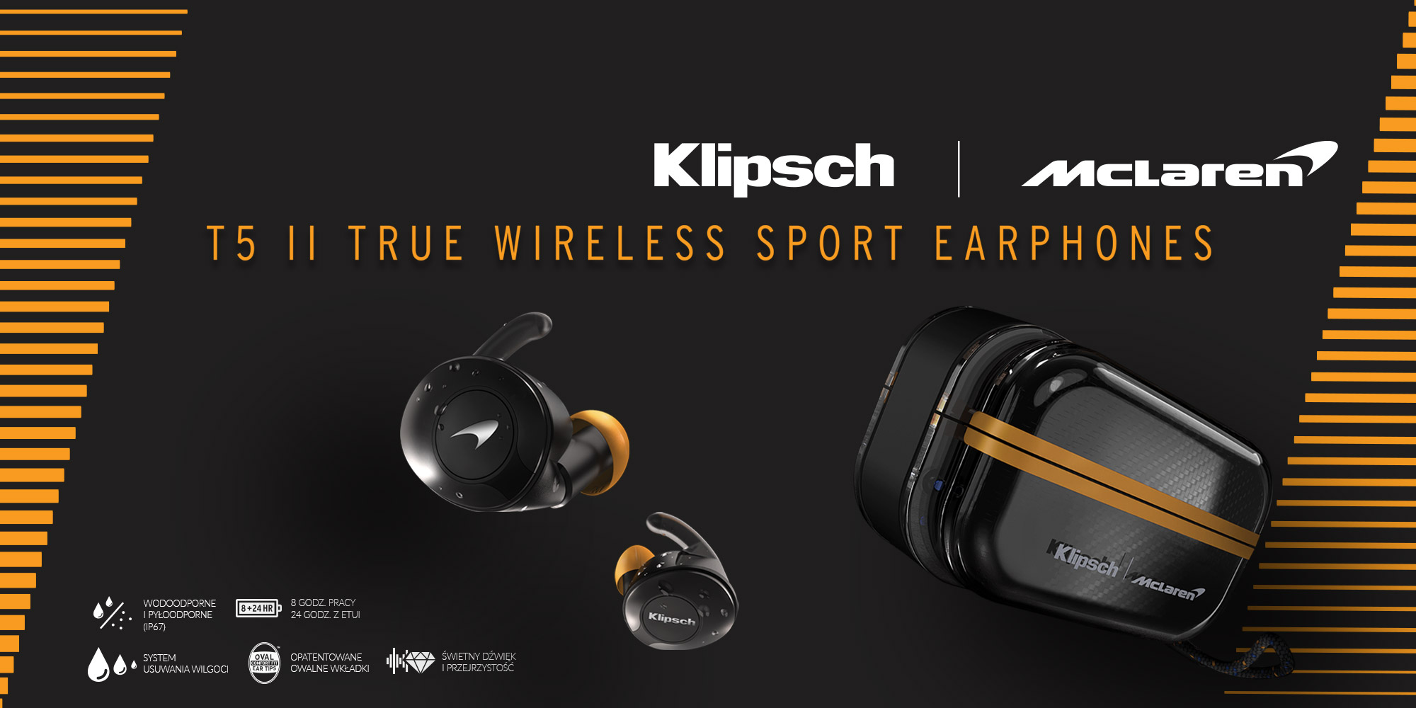 KLIPSCH AUDIO I MCLAREN RACING